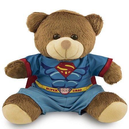 Ursinhos Super Herói Fantasia 20cm