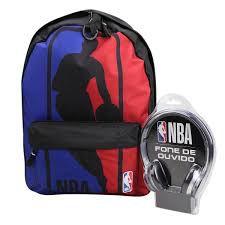 mochila-NBA+fone-de-brinde