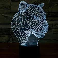 Luminária-3D-Tigre