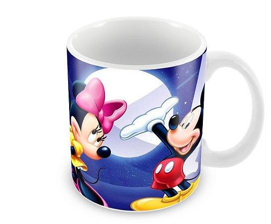 Caneca Luar Mickey e Minnie