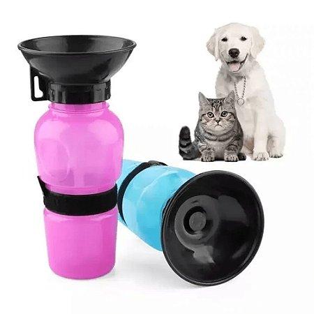 Bebedouro Aqua Dog Água Portátil Viagem Pet, Cães Gatos Garrafa