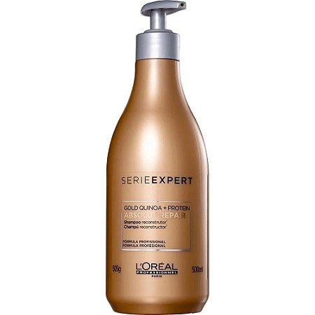 Loreal Absolut Repair Gold Shampoo 500ml Repara Danos