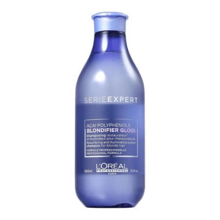 Loréal Professionnel Blondifier Gloss - Shampoo 300ml Para Cabelos Loiros Ou Descoloridos Danificados
