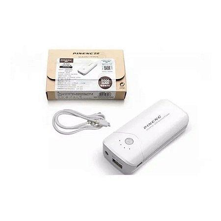 Carregador Portátil Power Bank 5000mah Bateria Externa Celular