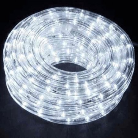 Mangueira Led Branca Natal Iluminação Luz Decoração Rolo 10m  Pisca 110v