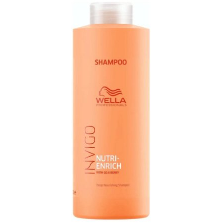 Kit Wella Invigo Enrich Shampoo + Condicionador 1000 Ml + Mascara 500 Ml