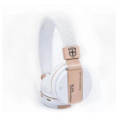 Fone Headphone Bluetooth De Ouvido Sem Fio Micro Sd Usb B-09