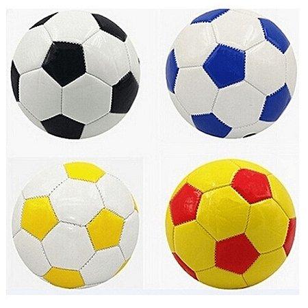 Mini Bola De Futebol Tamanho 5 Couro Sintético Altinha Praia