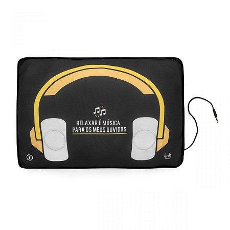 Almofada Massageadora Speaker Música