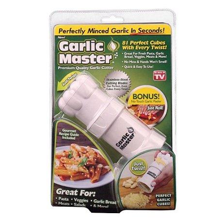 Garlic Master - Triturador de Alho: Crie Cubos Perfeitos!