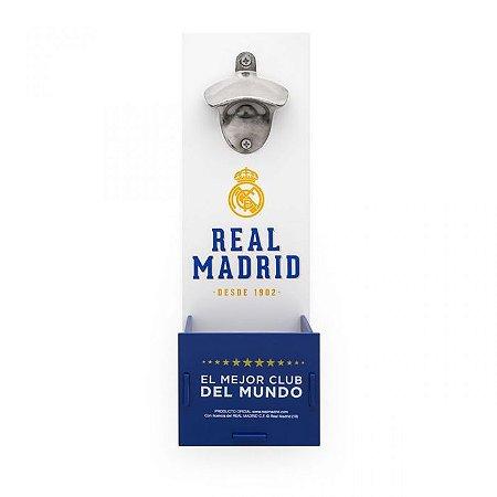 Abridor e Porta Tampinhas Real Madrid
