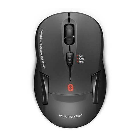 Mouse Sem Fio Bluetooth Multilaser