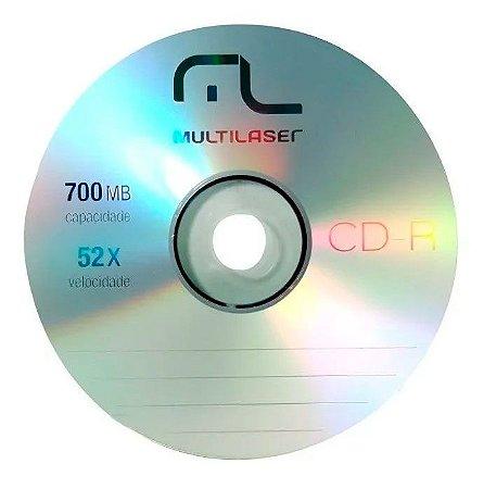 Mídia Gravável CD-R 700MB 52x