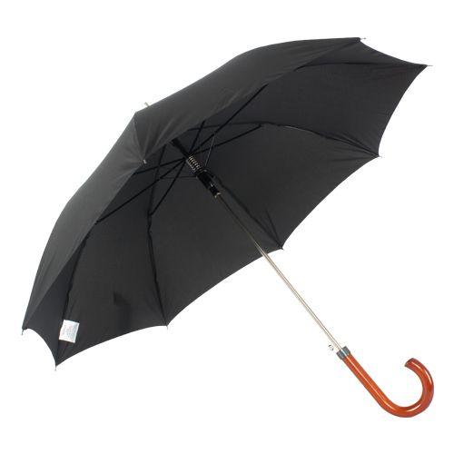 Guarda-chuva Longo Automático Cabo de Madeira