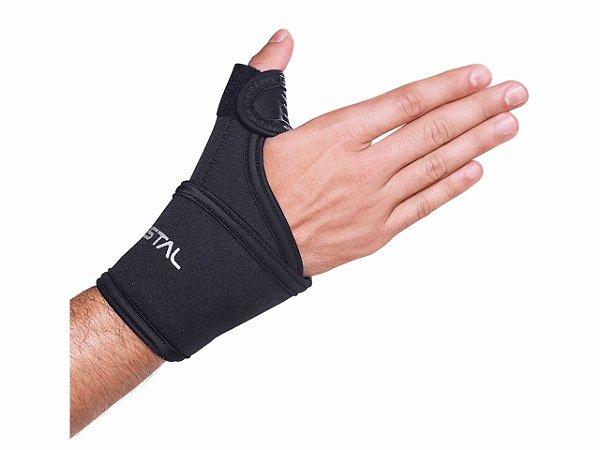 Munhequeira com tala polegar