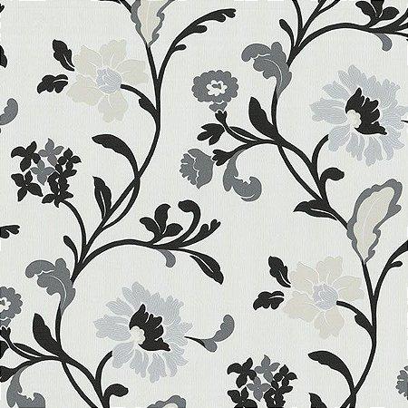 Papel de Parede com ramos de Flor