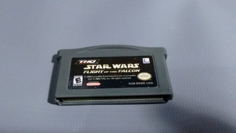 Jogo Star Wars Flight Of The Falcon GameBoy Advance