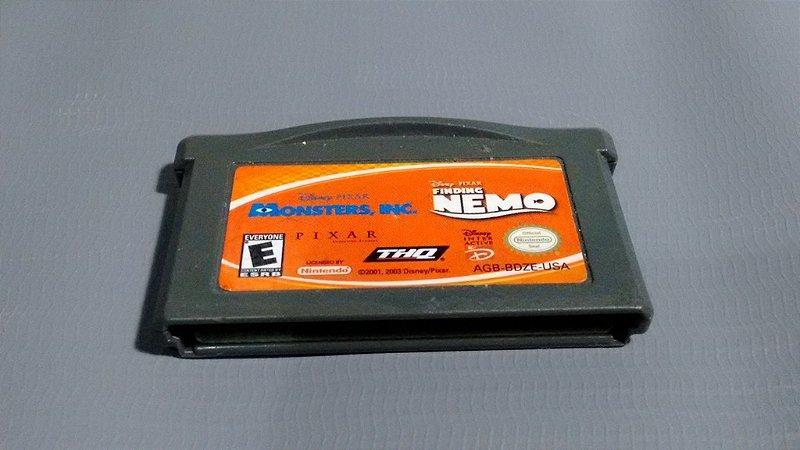 Jogo Procurando Nemo GameBoy Advance