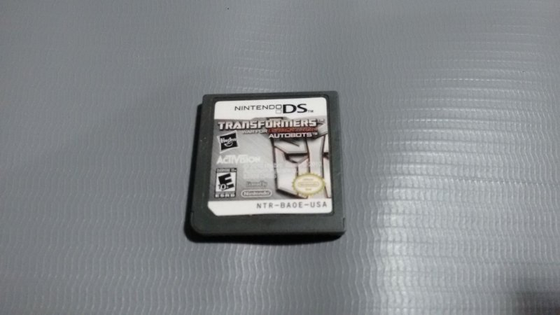 Jogo Transformers War For Cybertron Nintendo Ds
