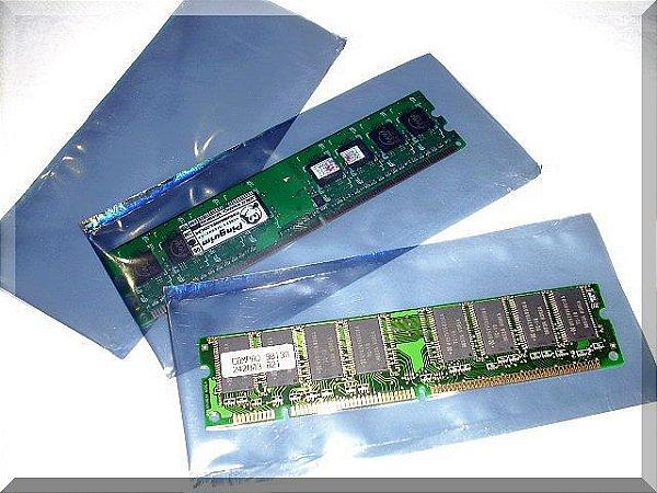 ANTI-STATIC INVOLVEMENTS ( STATIC BAG) FOR DESKTOP MEMORIES (100 un.) (sacos antiestáticos memorias)