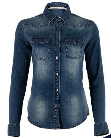 Camisa Jeans Masculino