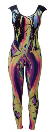Macacão Legging Fitness com bojo removível - Modelo Lovely