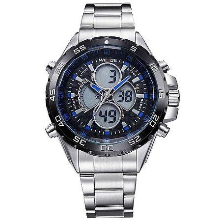 Relógio Masculino Weide Anadigi WH-1103 AZ