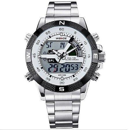 Relógio Masculino Weide Anadigi WH-1104 BR