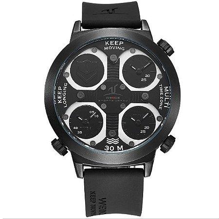 Relógio Masculino Weide Analógico  UV-1503 PT