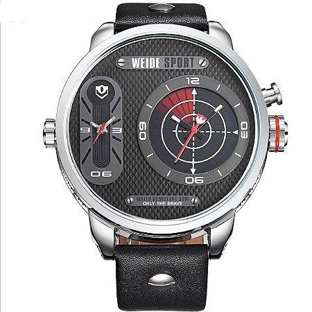 Relógio Masculino Weide Analógico WH-3409 PR-PT - Amigonauta 64157accade37
