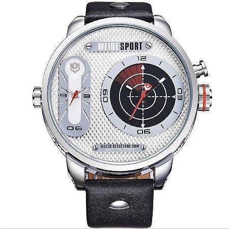 Relógio Masculino Weide Analógico WH-3409 PR-BR