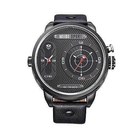 Relógio Masculino Weide Analógico WH-3409 PT-VM