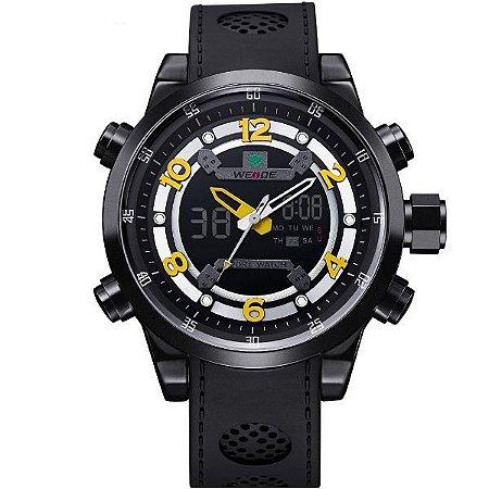 Relógio Masculino Weide Anadigi WH-3315 PT-AM