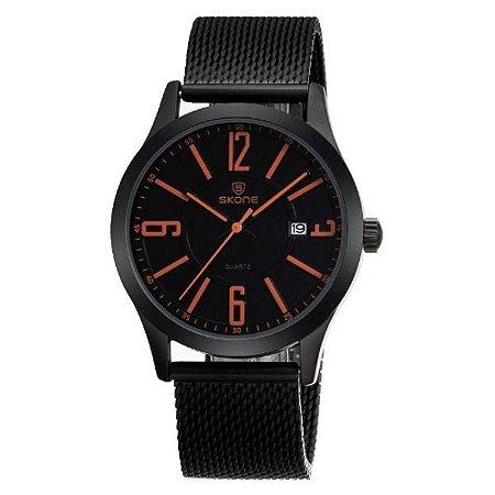 Relógio Masculino Skone Analógico 7347BG - LR