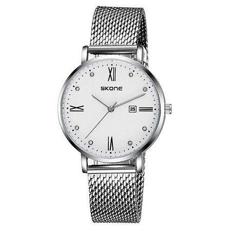 Relógio Masculino Skone Analógico 7392BL - BR