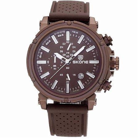 Relógio Masculino Skone Analógico 5148EG - MR