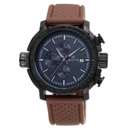 Relógio Masculino Skone Analógico 5145EG - PT