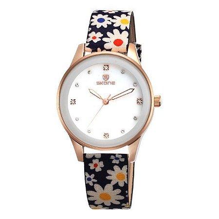 Relógio Feminino Skone Analógico 9386 AZ