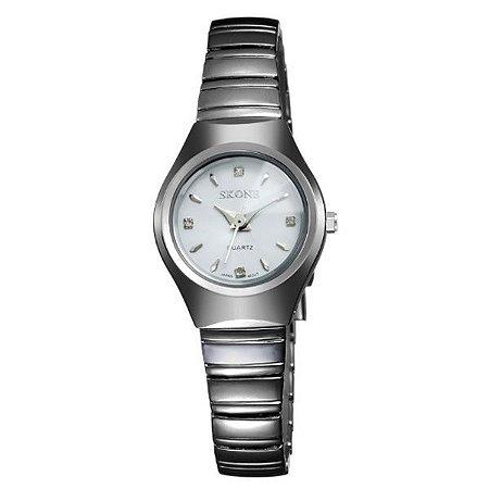 Relógio Feminino Skone Analógico 7101L BR