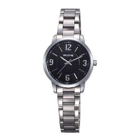 Relógio Feminino Skone Analógico 7308L PT