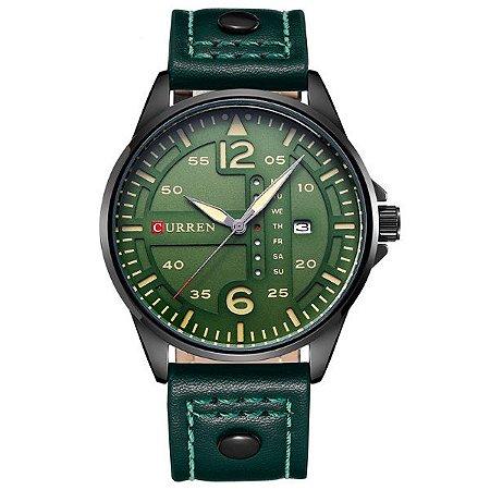 Relógio Masculino Curren Analógico 8224 VD