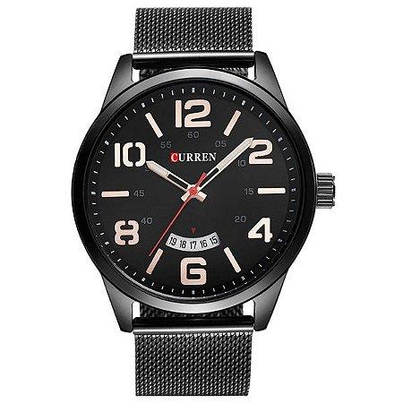 Relógio Masculino Curren Analógico 8236 PT