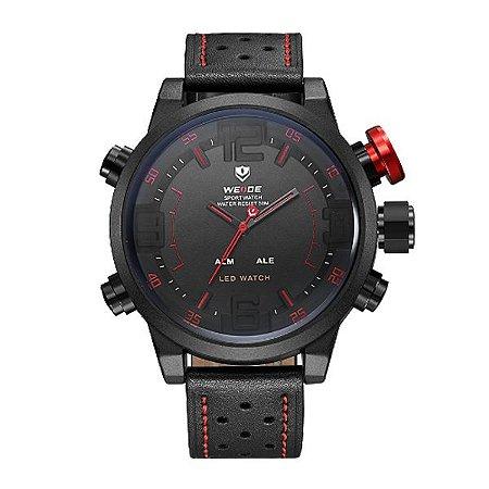 Relógio Masculino Weide Anadigi WH-5210 VM