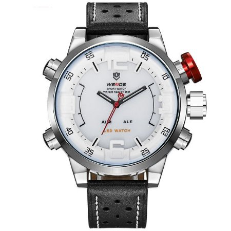 Relógio Masculino Weide Anadigi WH-5210 BR-PR