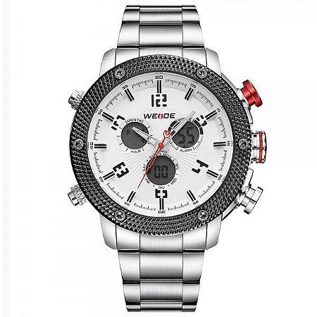 Relógio Masculino Weide Anadigi WH-5206 BR