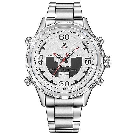 Relógio Masculino Weide Anadigi WH-6306 BR