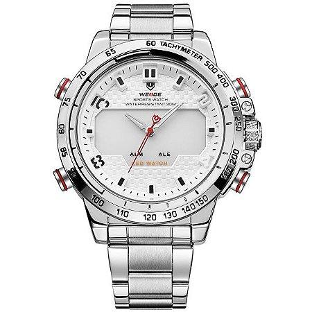 Relógio Masculino Weide Anadigi WH-6102 BR