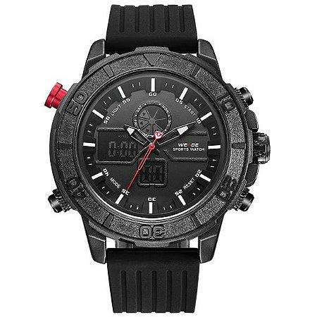 Relógio Masculino Weide Anadigi WH-6108 PT