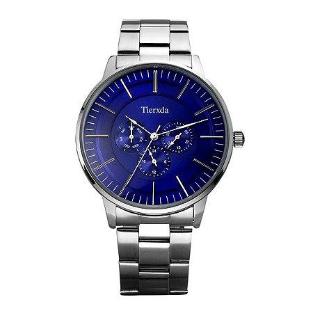 Relógio Masculino Tierxda Analógico 5271G Azul