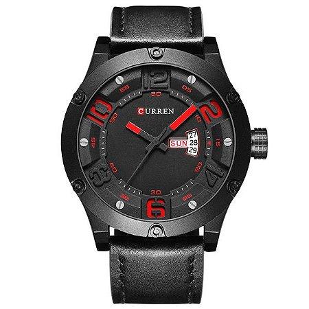 Relógio Masculino Curren Analógico 8251 Preto